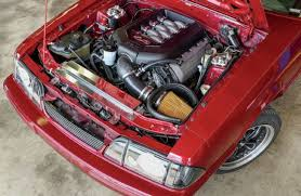 93 mustang engine how to install a 5 0 coyote into a fox mustang easy