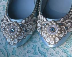 light blue wedding flats cinderella s slipper bridal ballet flats wedding shoes any size