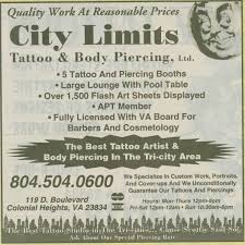 Sun Tan City Chester Va River City Tattoo Richmond Va Piercing Prices All About Tattoo