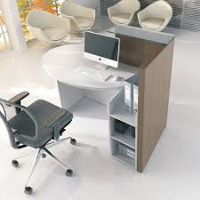 Small Receptionist Desk Ovo Small Reception Desk