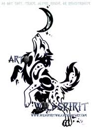 tribal howling wolf head by wildspiritwolf getting this with my