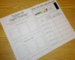 Classy Light Energy Worksheets First Grade With Energy Homeshealth