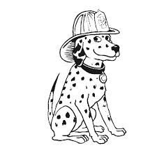 dalmatian puppy coloring pages dalmatian fire dog coloring pages