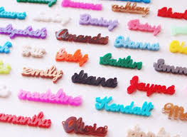 acrylic name necklace script acrylic name necklace moon and lola be monogrammed