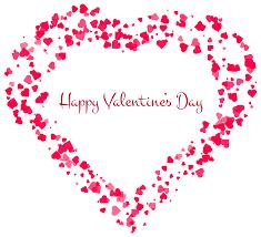 happy valentine u0027s day decorative heart transparent png clip art
