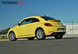 volkswagen buggy yellow 2013 volkswagen beetle review video performancedrive