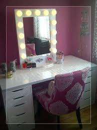 vanity desk with mirror ikea scintillating vanity desk mirror with lights gallery best