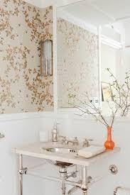 Home Wallpaper Decor 299 Best Powder Room Images On Pinterest Bathroom Ideas Powder