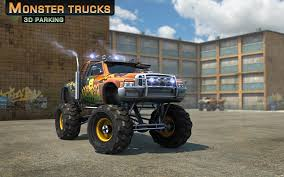 monster truck video download free monster trucks 3d parking android apps on google play