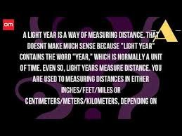 How Many Years Is A Light Year Light Year Length