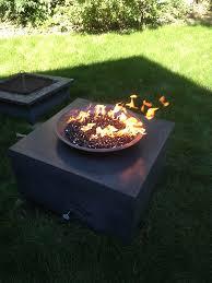 Firepit Bowl Concrete Pits Minneapolis Mn Bowls Tables Living