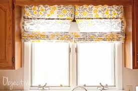 objective home easy no sew roman shades for 4 50