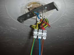 How To Mount A Ceiling Light How To Wire A Ceiling Light Fixture Uk Pranksenders