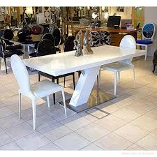 White Corian Square White Corian Solid Surface Marble Dining Table Shinystone