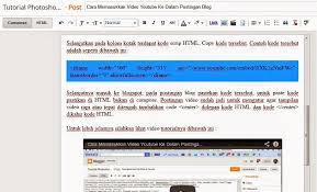 cara membuat blog tulisan cara membuat background tulisan berwarna pada postingan blog