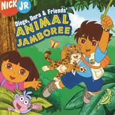 various diego dora u0026 friends animal jamboree amazon com music