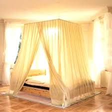 Curtains For Canopy Bed Canopy Bed Curtains With Lights Npedia Info