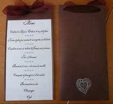 id e menu mariage idee de presentation de menu mariage forum vie pratique