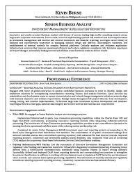 Senior Business Analyst Resume Intelligence Analyst Resume Berathen Com