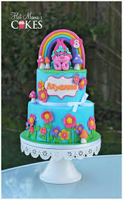 best 25 trolls cakes ideas on pinterest princess poppy cake