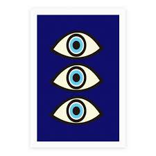 evil eye poster lookhuman