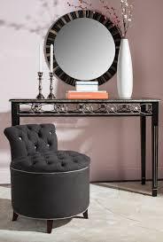 Silver Vanity Chair Mcr4518a Vanity Stools Furniture By Safavieh