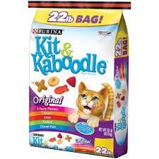 purina kit u0026 kaboodle original cat food 22 lb bag walmart com
