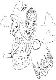 coloring download sofia the first mermaid coloring pages sofia