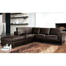 canap d angle 5 places convertible canape d angle cuir marron canapac dangle convertible simili cuir
