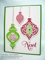poking at stin up ornament keepsakes keepsakes card