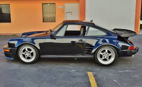 widebody muscle cars 1988 porsche 911 turbo look g50 widebody real muscle exotic