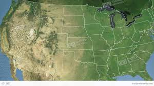 Kansas State Map by Kansas State Usa Extruded Satellite Map Stock Animation 6515167