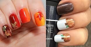 thanksgiving fingernails 10 adorable thanksgiving nail designs best nail