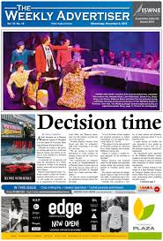 the weekly advertiser wednesday november 9 2016 by the weekly