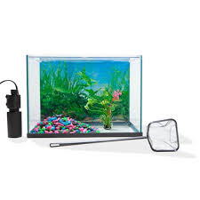 halloween fish tank background 20l aquarium starter kit kmart