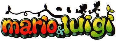 original mario luigi logo weird mario