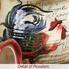 rooster kitchen canisters le rooster kitchen canister set