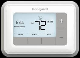 programmable heat pump thermostat honeywell digital rth3100c