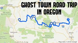 The Ghost Map This Ghost Town Road Trip In Oregon Is The Perfect Adventure