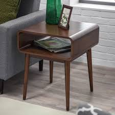 Kitchen Side Table by Belham Living Carter Mid Century Modern Side Table Hayneedle