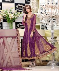 purple bridal dress with lehenga sharara exclusive online boutique