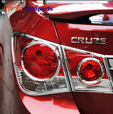 2014 cruze tail lights chrome rear tail light l cover protector guards trim for