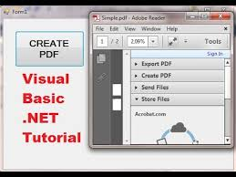visual basic tutorial in hindi pdf visual basic net tutorial 47 itextsharp how to create pdf file