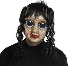 halloween 5 mask sad sally mask halloween scary doll horror fancy dress