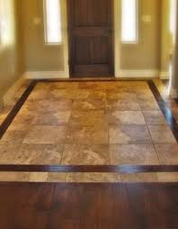 Kitchen Tile Flooring Ideas Diy Ceramic Tile That Looks Like Wood Perfect For A Kitchen