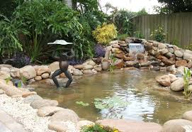 Backyard Waterfalls Ideas Best Backyard Waterfalls Ideas House Design And Office
