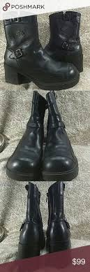 womens harley boots size 9 enzo angiolini womens boots black knee high leather boots