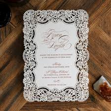foil wedding invitations foiled wedding invitations in gold silver