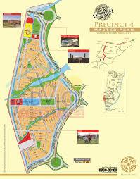 map of karachi bahria town karachi map of all precinct