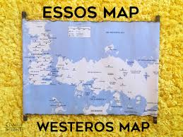 Map Westeros Essos Map And Westeros Map Color Scroll Game Of Thrones Map Of